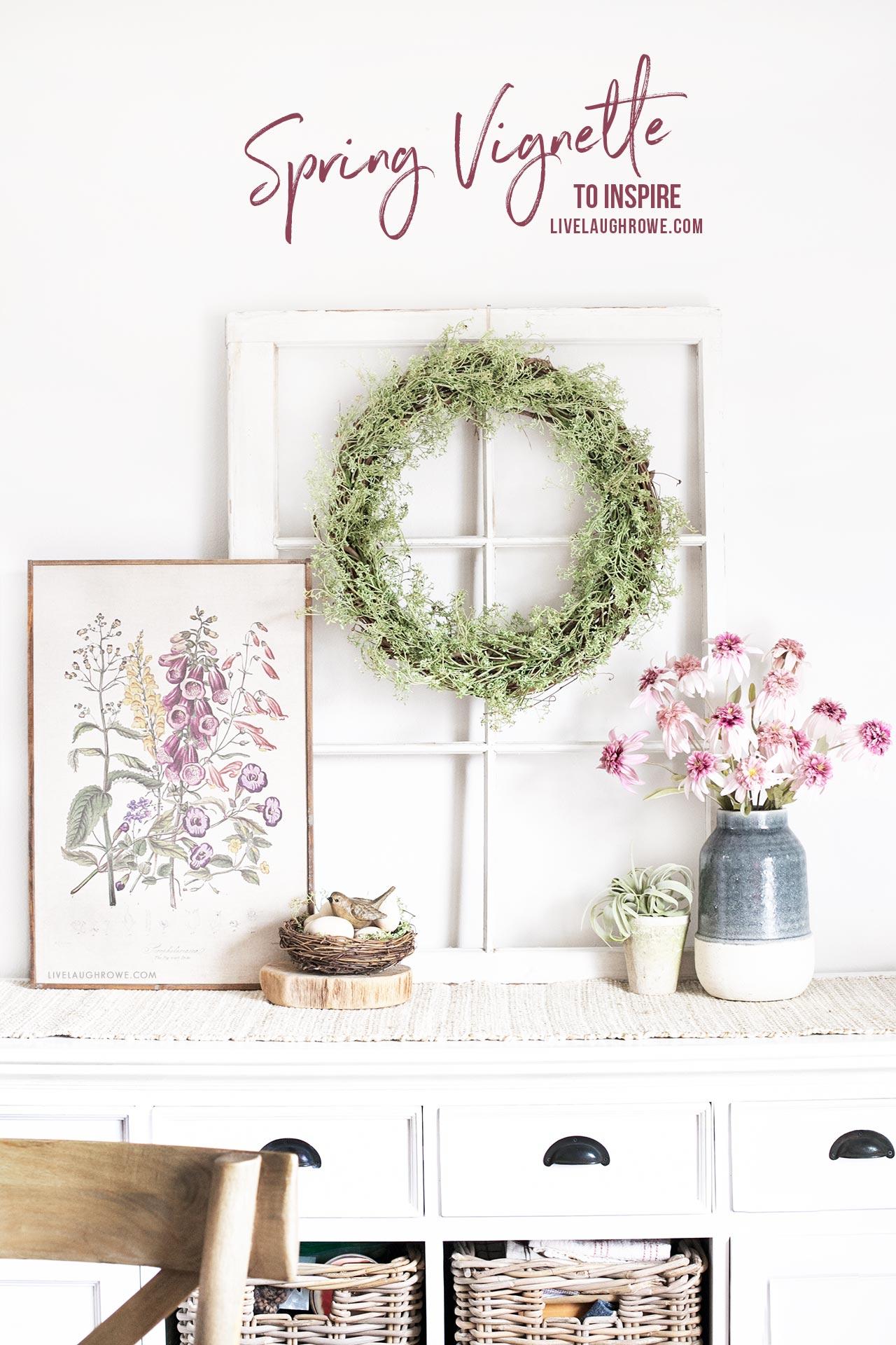 Spring Vignette Inspiration