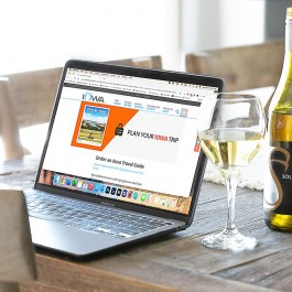 Virtual Wine Tasting for Travel Iowa