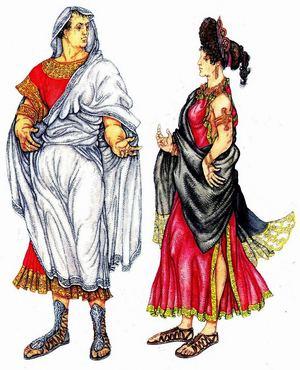 พลเมืองที่มีน้ำหนักของกรุงโรมโบราณ