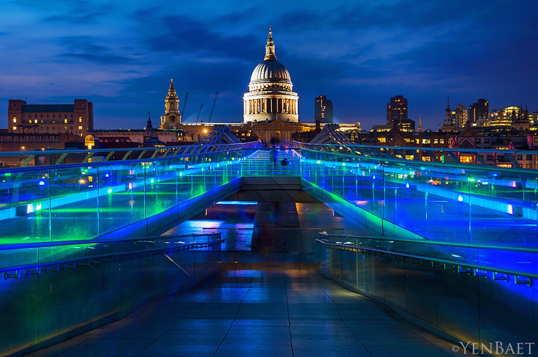 Places to visit in London  the East  and Cheval Residences Places to visit in London   St  Paul s Cathedral and Millennium Bridge    pic