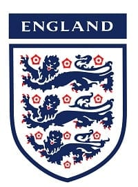 England football team badge