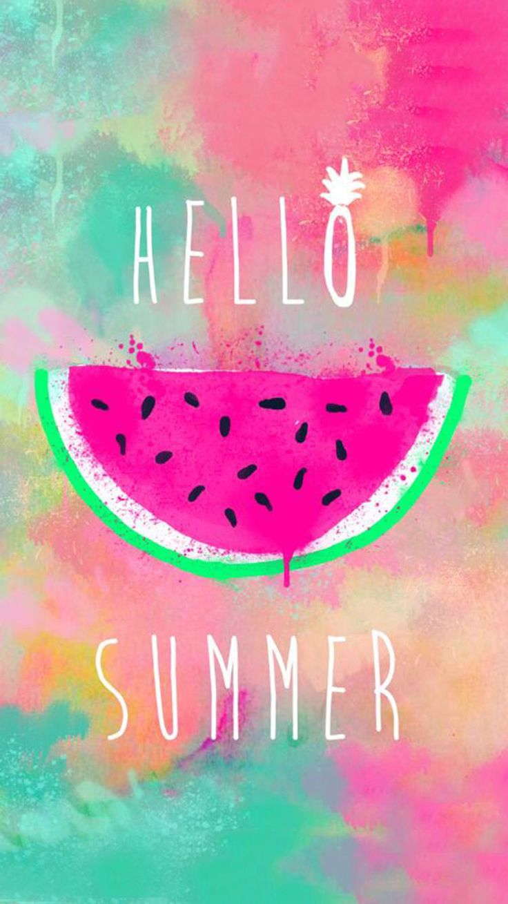 Cute Girly Wallpapers For Iphone Hello Summer   2019 Live ...