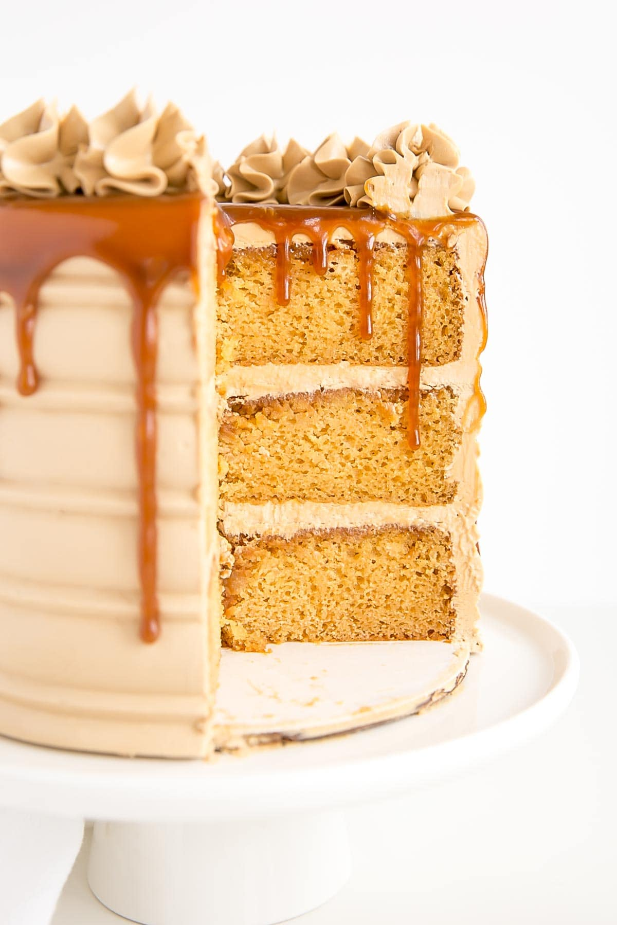 Caramel Cake Salted Caramel Cake Liv For Cake