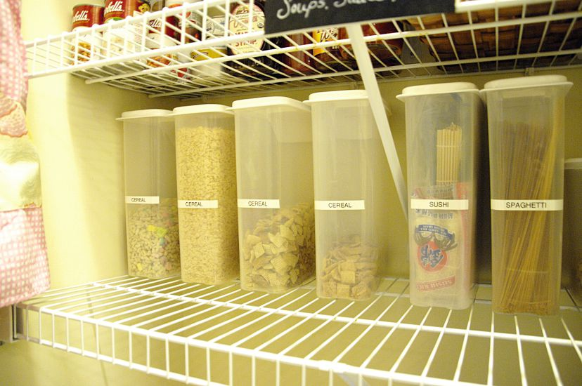 How I Organize My Pantry Living Rich On Less