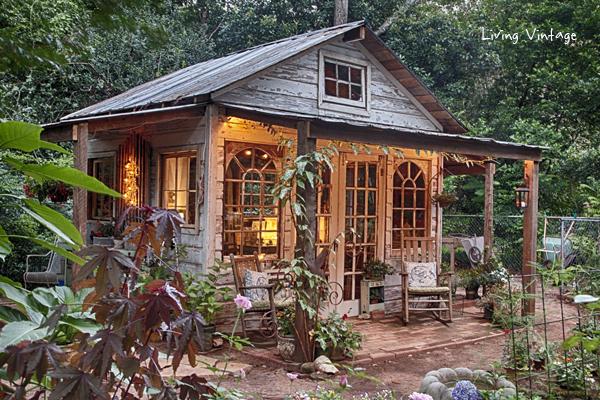 Jenny S Garden Shed Revealed Living Vintage