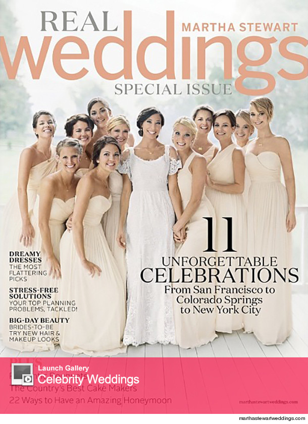 Martha Stewart Weddings Magazine Current Issue