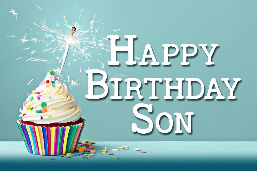 Birthday Happy My Son Mom