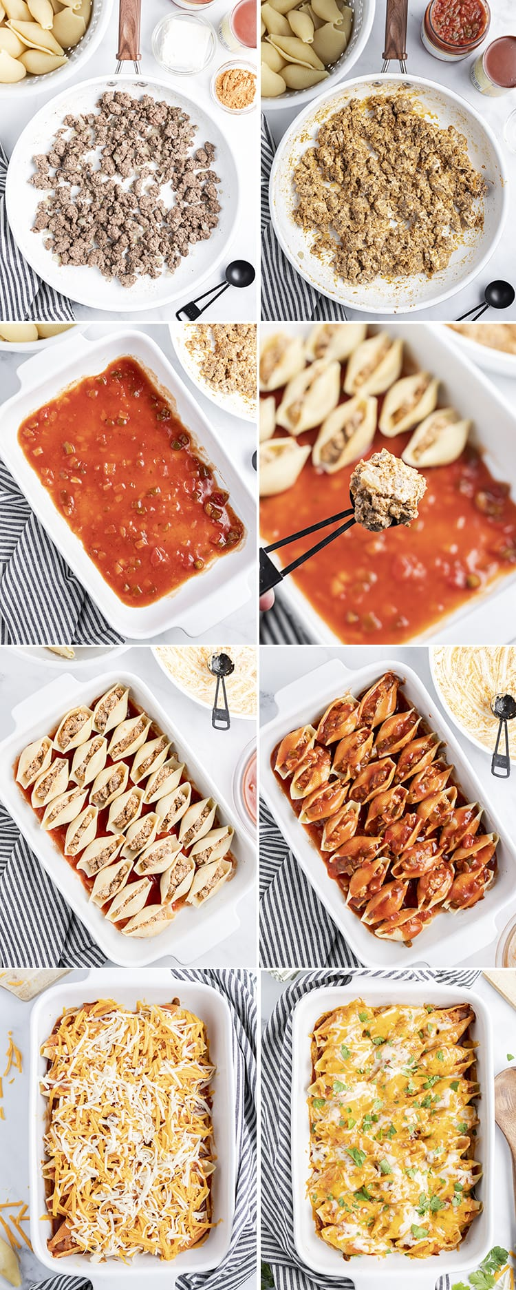 How to make Mexican stuffed shells