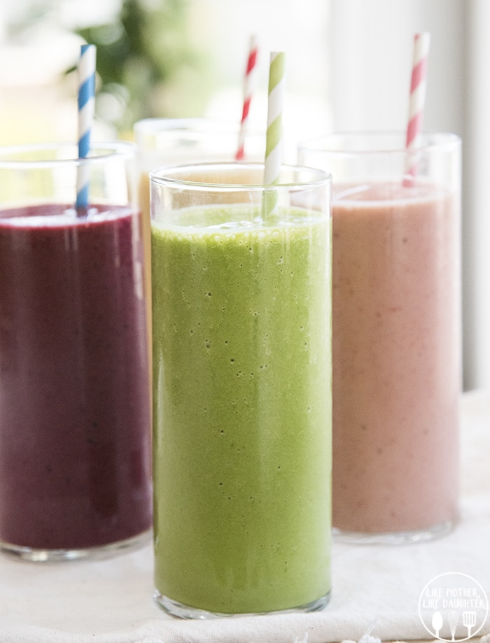 The perfect fruit smoothie recipe for any flavor of smoothies that you love!