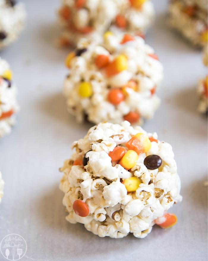 Marshmallow Popcorn Balls
