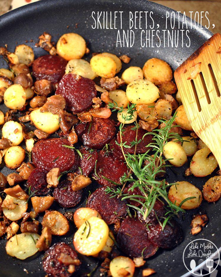 Skillet Potato Beet Chesnut 41