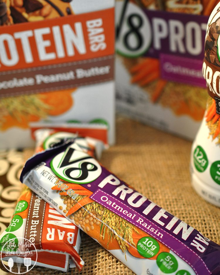 v8 protein shakes and bars 2