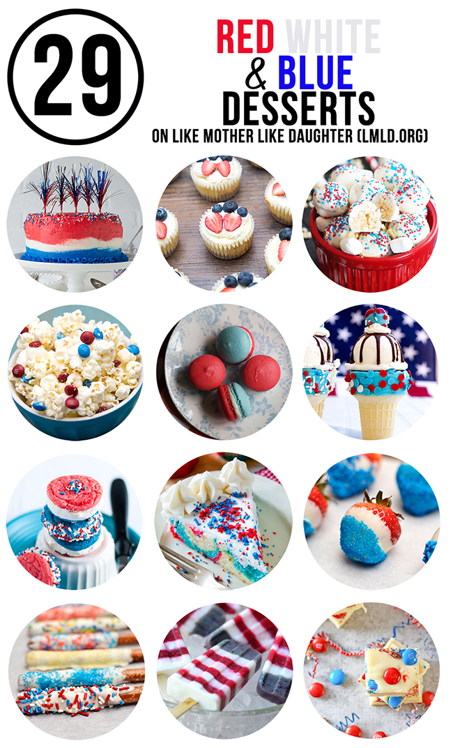 red white and blue desserts smaller