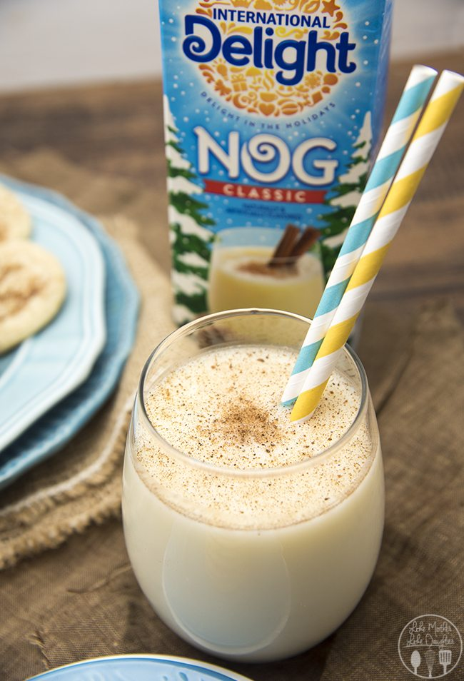 Eggnog cookie recipes have the great taste of eggnog in a cookie! With eggnog, cinnamon and nutmeg these are a delicious seasonal cookie!