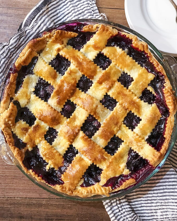 Blueberry Pie is one of the best desserts in the world!