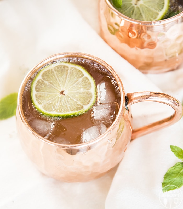 Non alcoholic drinks moscow mule