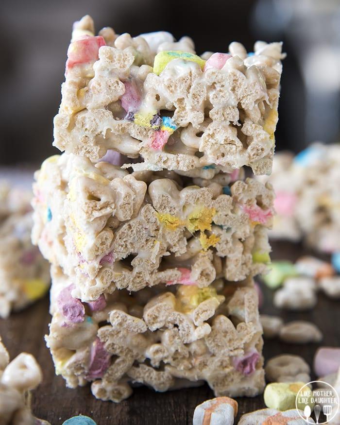 Lucky Charm Marshmallow Treats