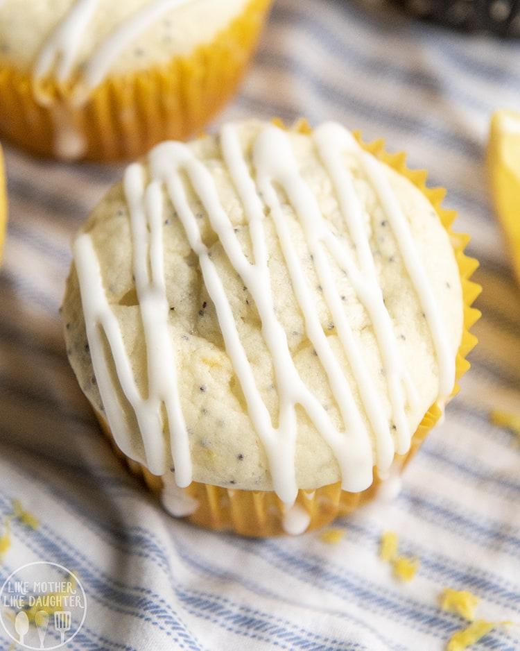 The best Lemon Poppyseed Muffin