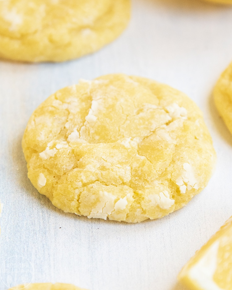 A lemon crinkle cookie is the perfect tangy, sweet cookie