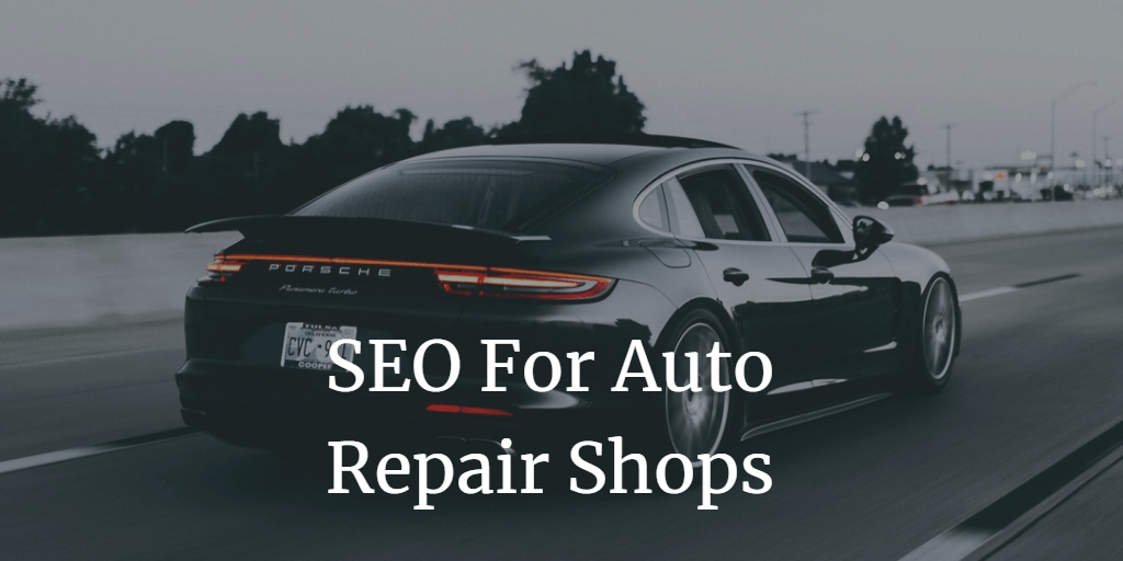 auto repair search engine optimization