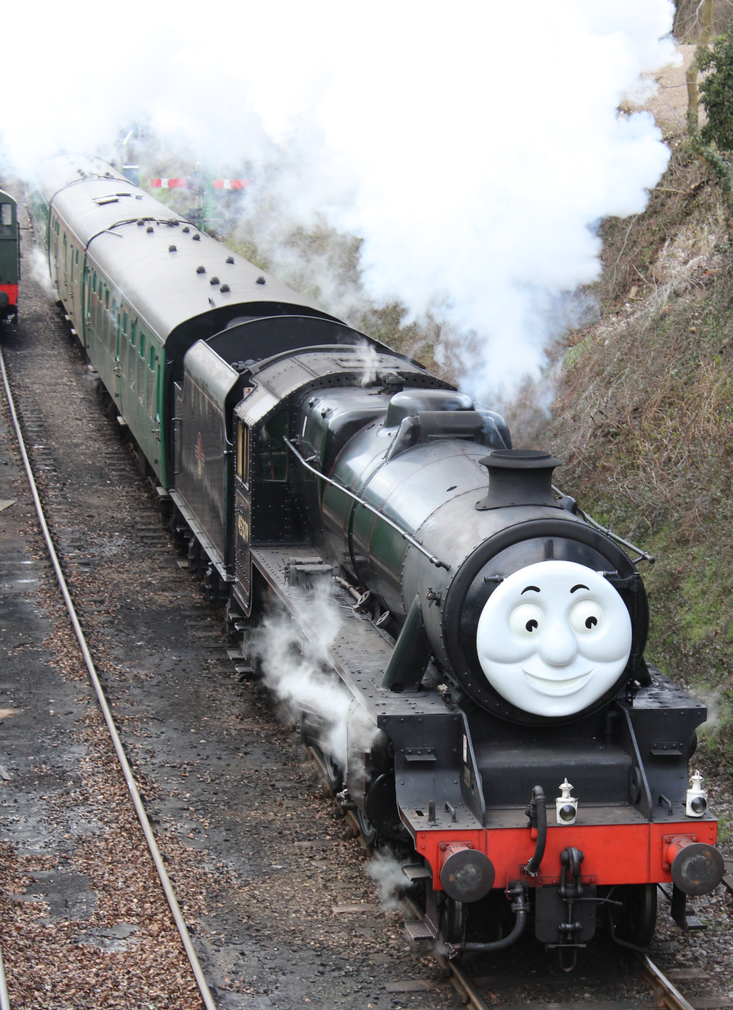 2013 Day Out With Thomas Watercress Line Ropley Ex