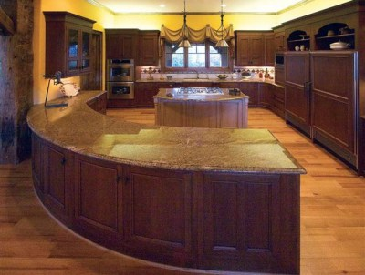 Pictures of Log Home Kitchens | Fun Times Guide to Log Homes