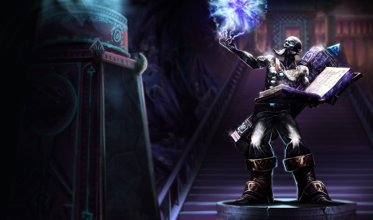 Triumphant Ryze Skin - League of Legends Wallpapers