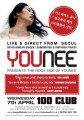 Thumbnail for post: Competition: Win free tickets to Younee at 100 Club