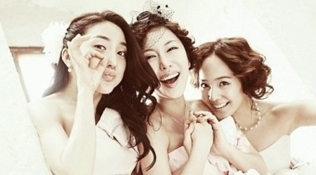 Featured image for post: S.E.S reunites for wedding photos