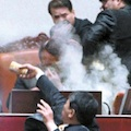 Thumbnail for post: GNP braves tear gas to pass FTA
