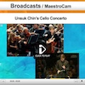 Thumbnail for post: Unsuk Chin Cello Concerto on Maestrocam