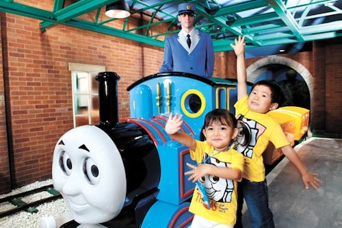 Featured image for post: Thomas the Tank engine wins Korean hearts