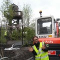 Thumbnail for post: A DMZ Watch-tower rises over the Chelsea Showground