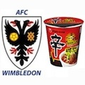 Thumbnail for post: Ramyun and the Dons: AFC Wimbledon announces Nongshim Noodle deal