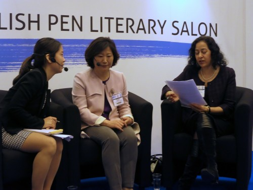Featured image for post: English PEN video: Hwang Sunmi in conversation with Maya Jaggi
