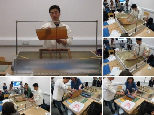 Featured image for post: Making, dyeing and using traditional Korean paper – a rewarding day of workshops at the V+A
