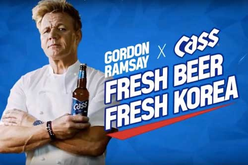 Gordon Ramsay Cass advertisement