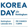 Thumbnail for post: Event news: Korea Day in Nottingham