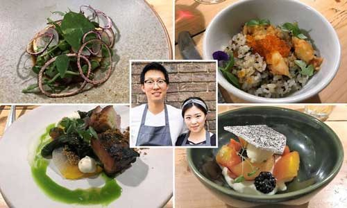 Featured image for post: Restaurant visit: Suhyung Lee and Yujung Kim at Carousel