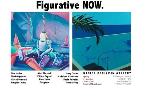 Featured image for post: Yanghwa and Sang Ho Chung in Figurative NOW, at Daniel Benjamin Gallery