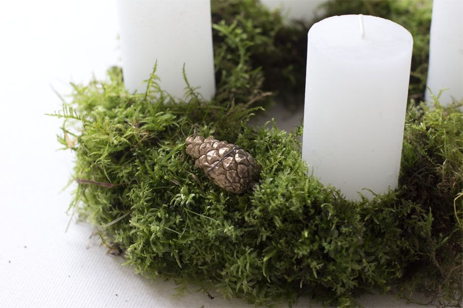Austrian tradition: the Adventskranz (advent wreath) LOOK WHAT I