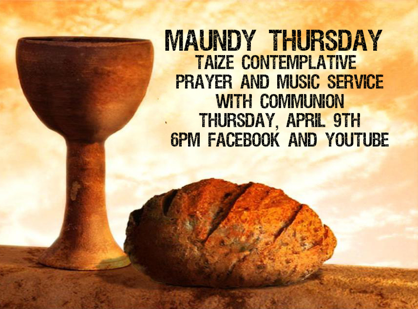 Maundy Thursday Service First United Methodist Church Of Loomis