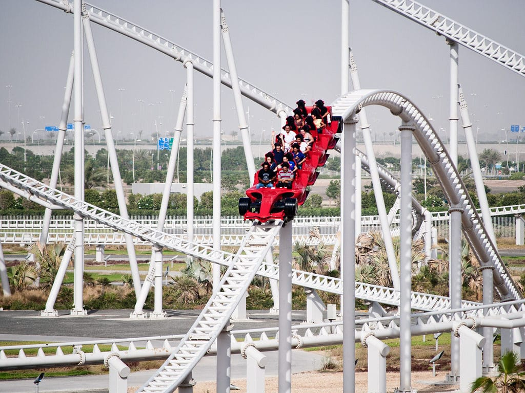 world's fastest roller coaster - HD 1024×768