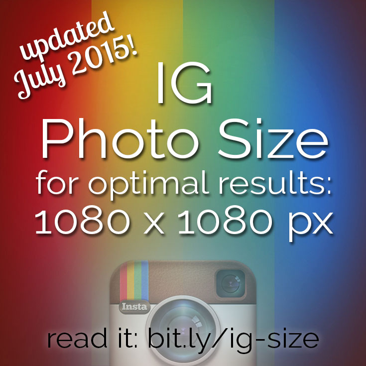 What's the Best Instagram Photo Size? NEW High Resolution!