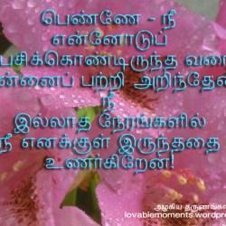 I Love U In Tamil Words Pansi Me