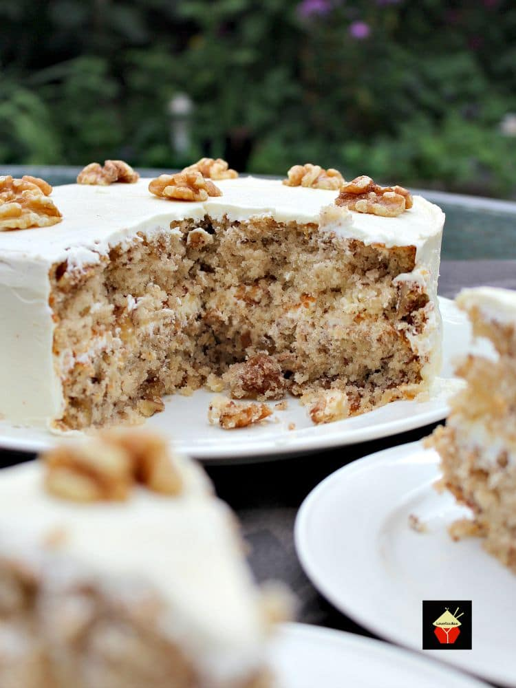 Walnut Cake Is A Delicious Easy Recipe The Cake Is So