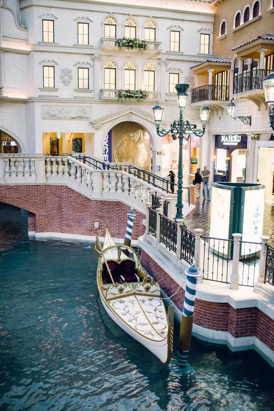 Vegas Weddings Gondola