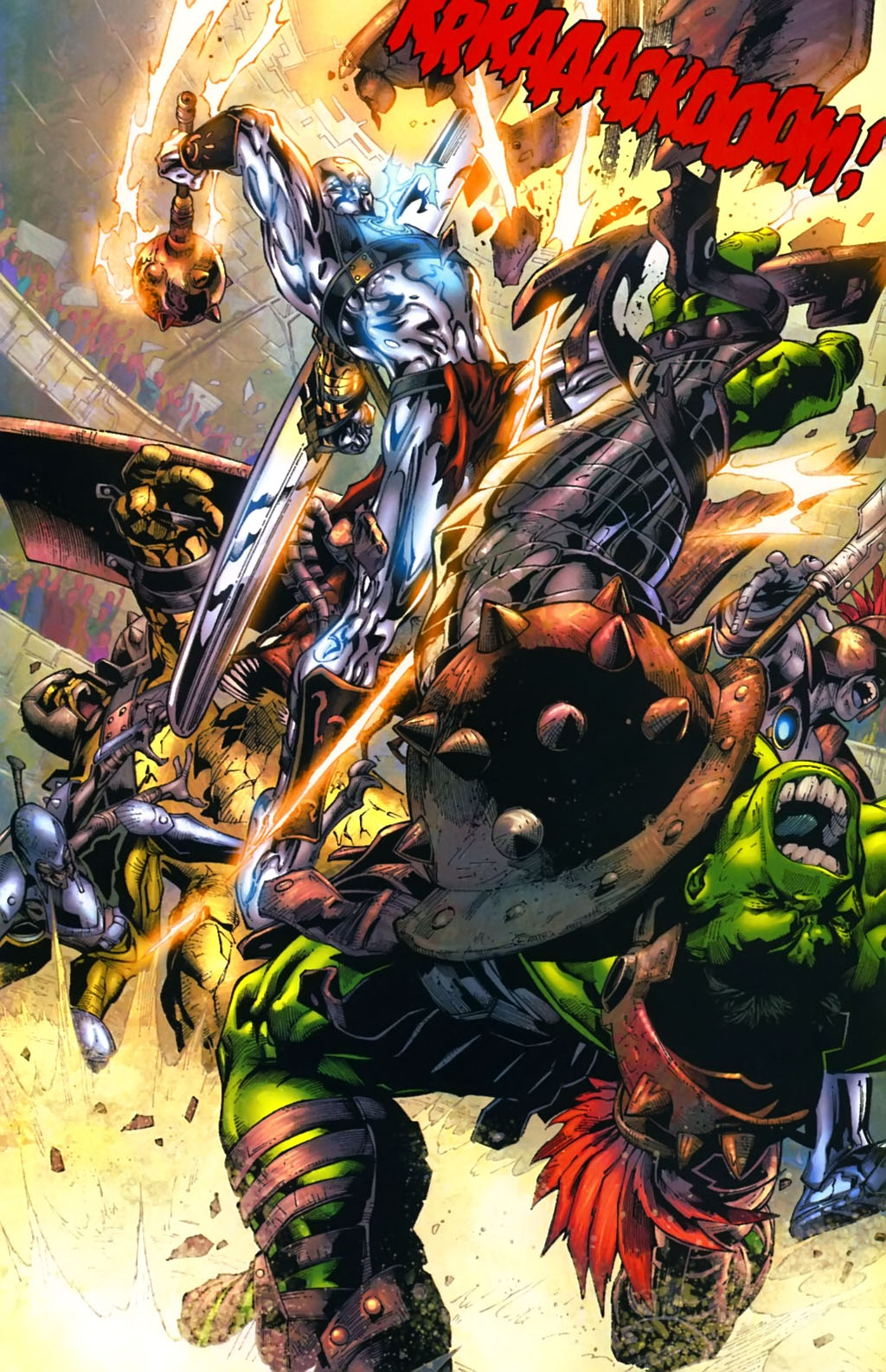 Incredible Hulk vs. Silver Surfer (Planet Hulk)