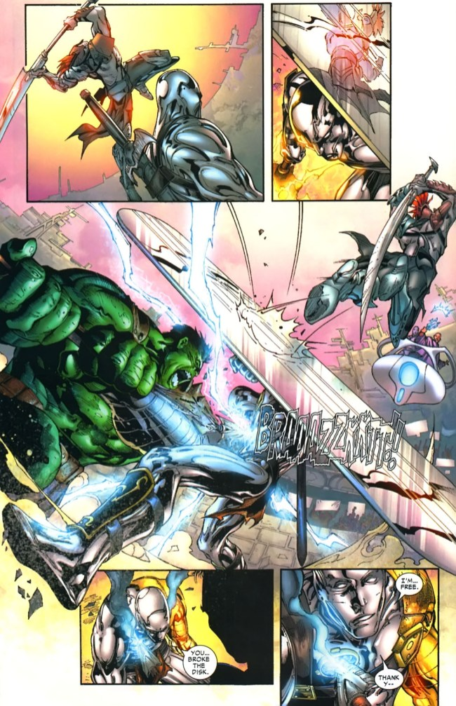 Incredible Hulk vs. Silver Surfer (Planet Hulk ...