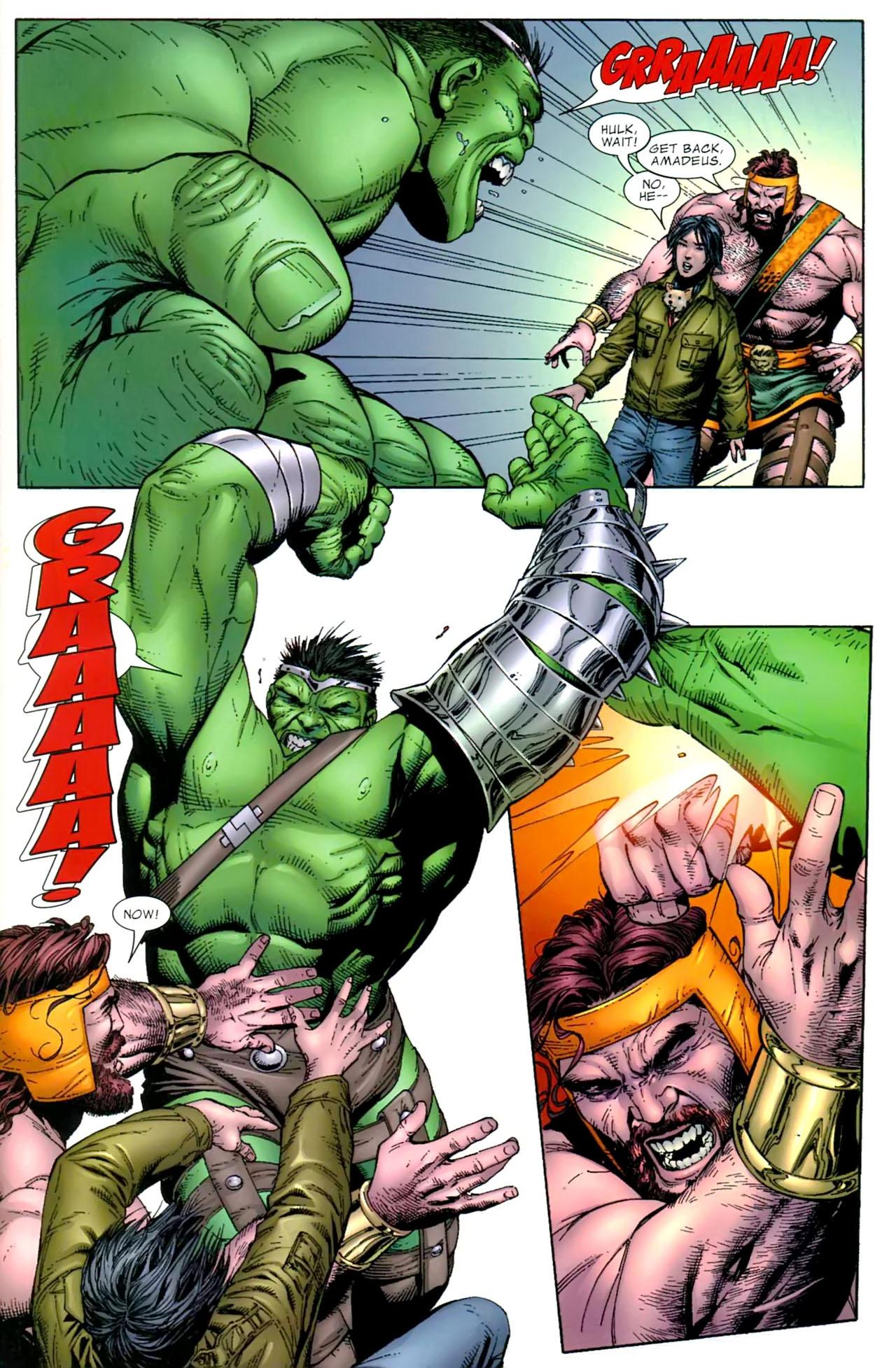 The Incredible Hulk vs. Hercules (World War Hulk)